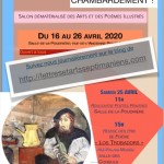 Affiche salon virtuel arts et poésie