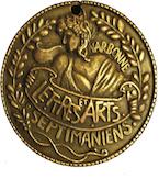 Médaille réalisée par Marianne Schumacher